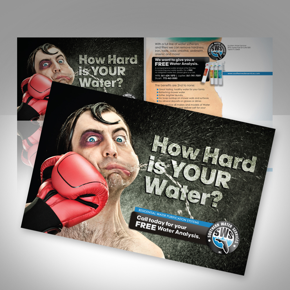 souther water services postcard mailer